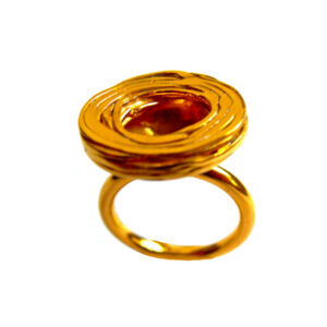 YSA-R19G Ring-Pond Ripple-Disk-Gold01