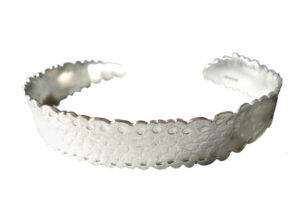 Yuki S Assiter_Recycled-Lace Bangle