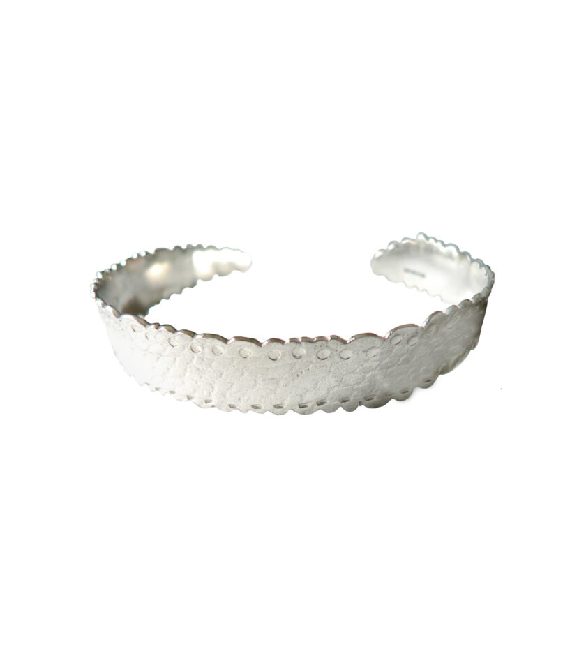 Recycled Lace Bangle_ S