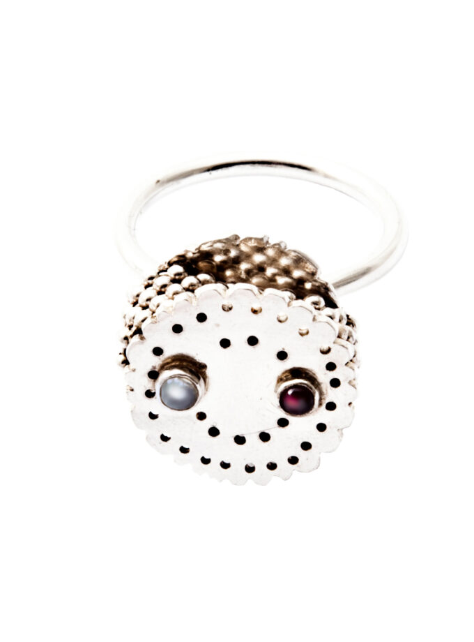 Bobbin Red and White_Ring