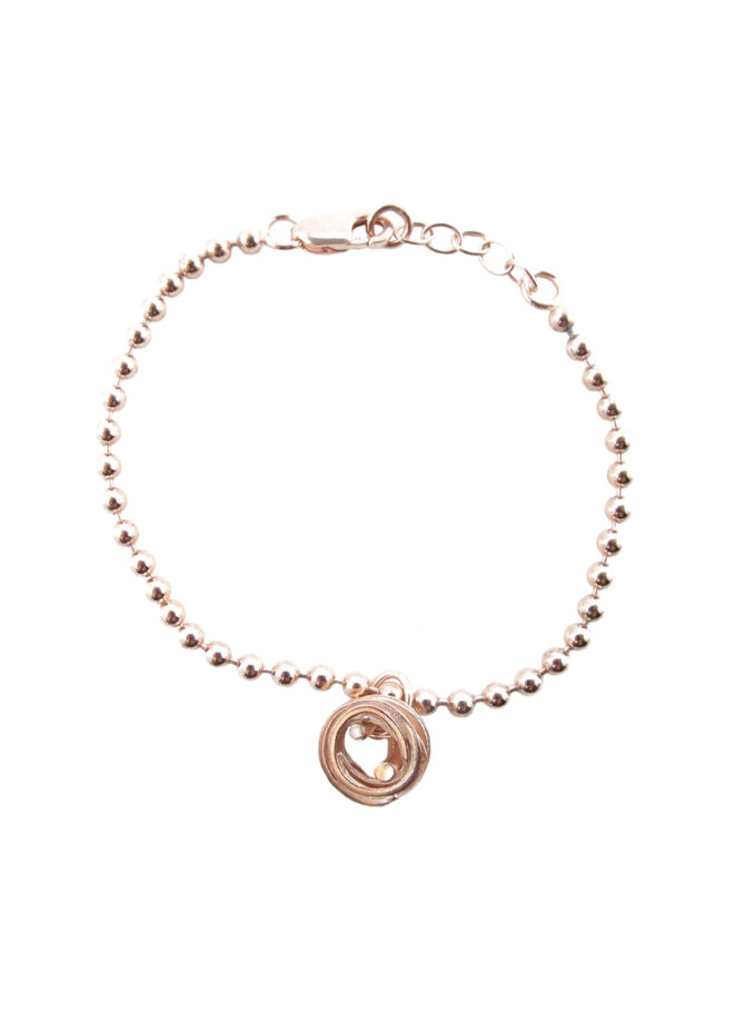Pond Ripples_Ball Chain Bracelet_ RG