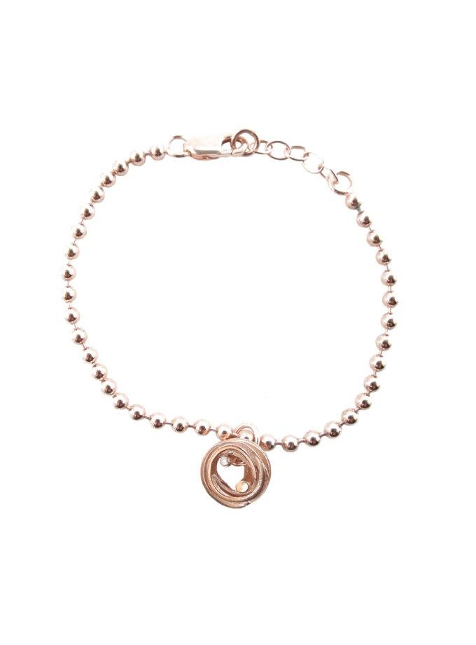 Pond Ripples_Ball Chain Bracelet_ RG