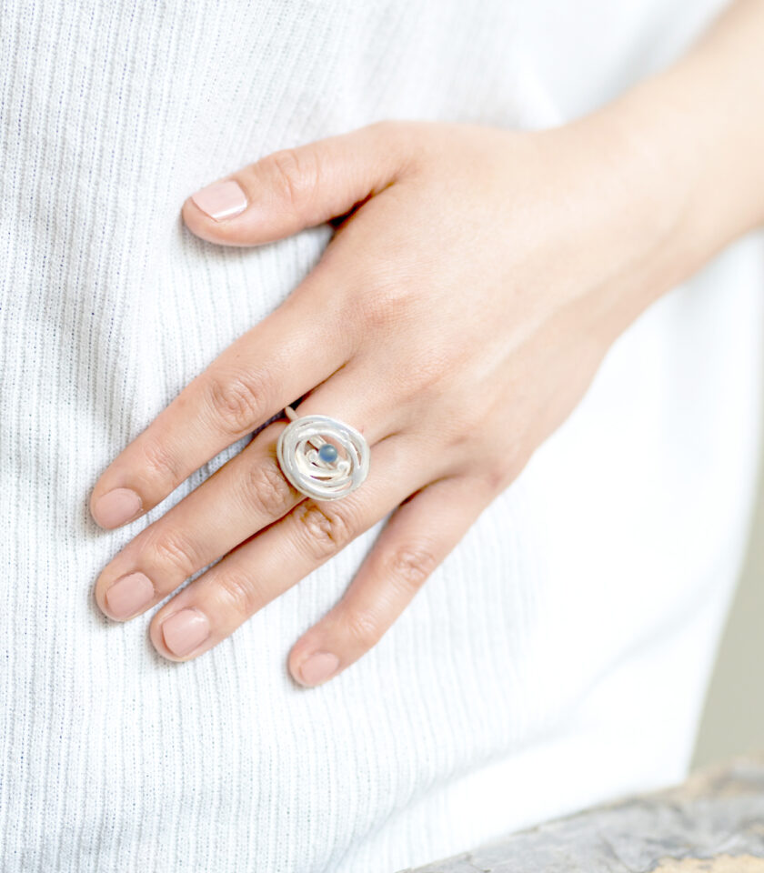 Pond Ripples_Ring with BL stone_2