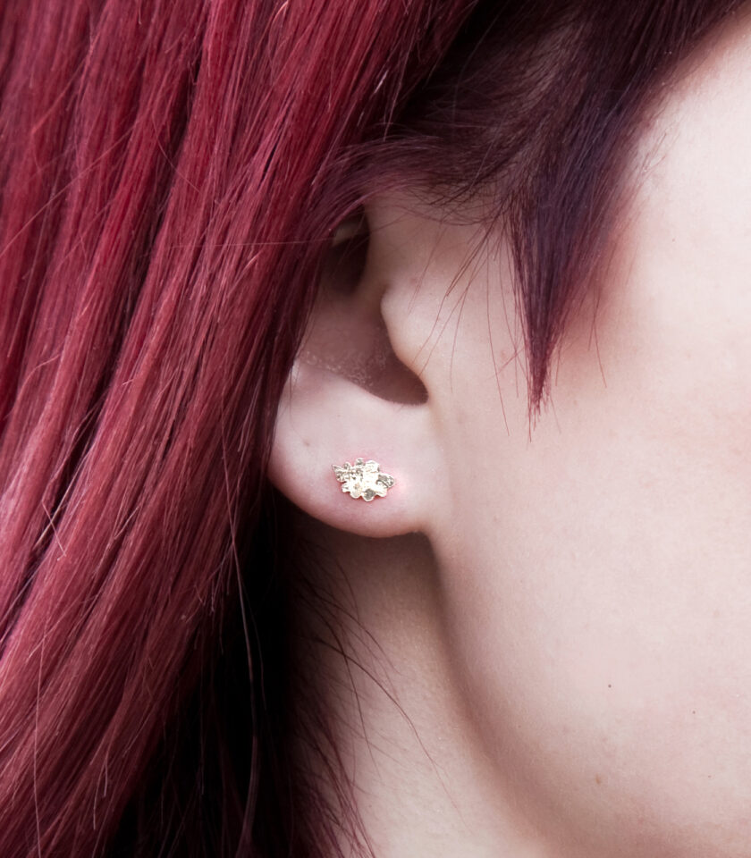 Recycled Pieces_Ear YG 02