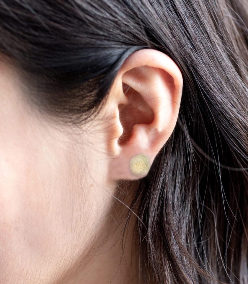 WCB _Ear Studs YG 02