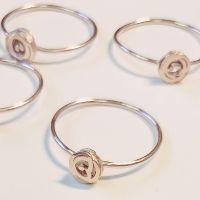 Tiny Ring_Rose Gold/ 18ct rose gold plate on stering silver